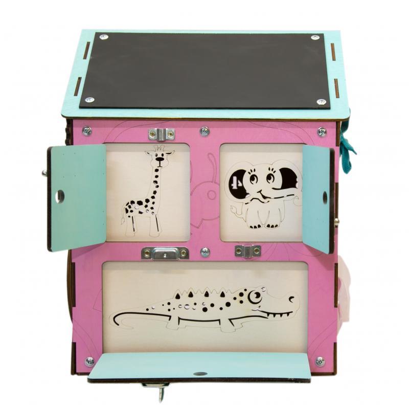 Бизи-Дом розовый 30х40 см фото