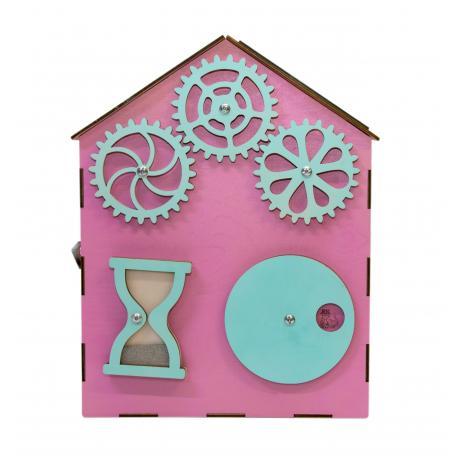 Бизи-Дом розовый 30х40 см