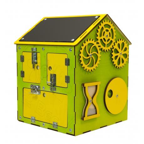 Бизи-Дом зеленый 30х40 см