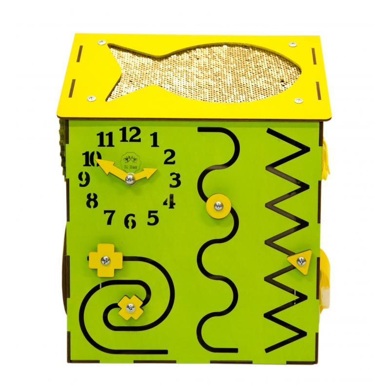 Бизи-Дом зеленый 30х40 см фото
