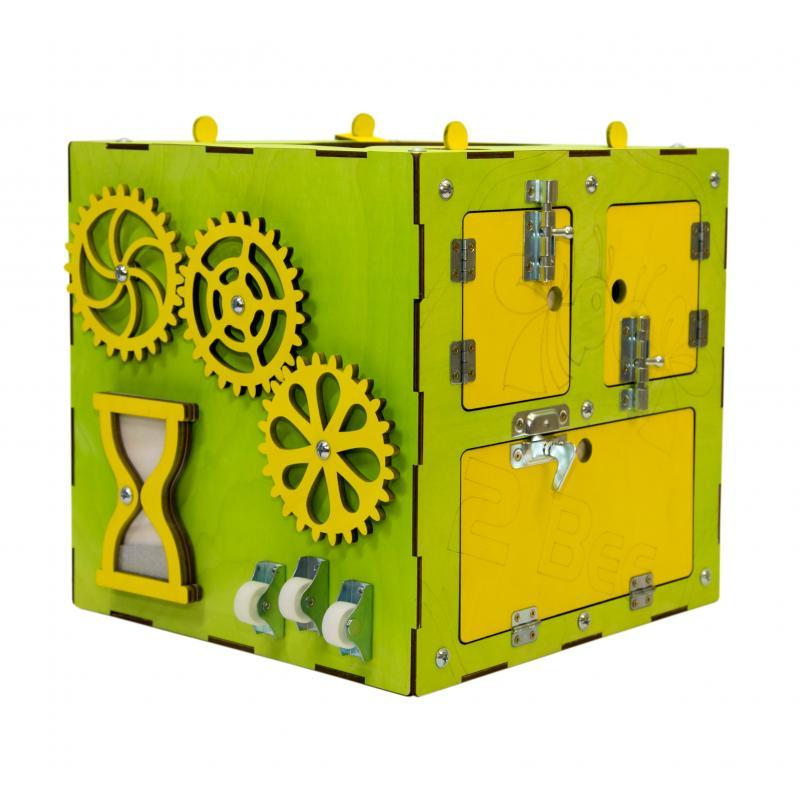 Бизи-Куб зеленый 30х30 см фото