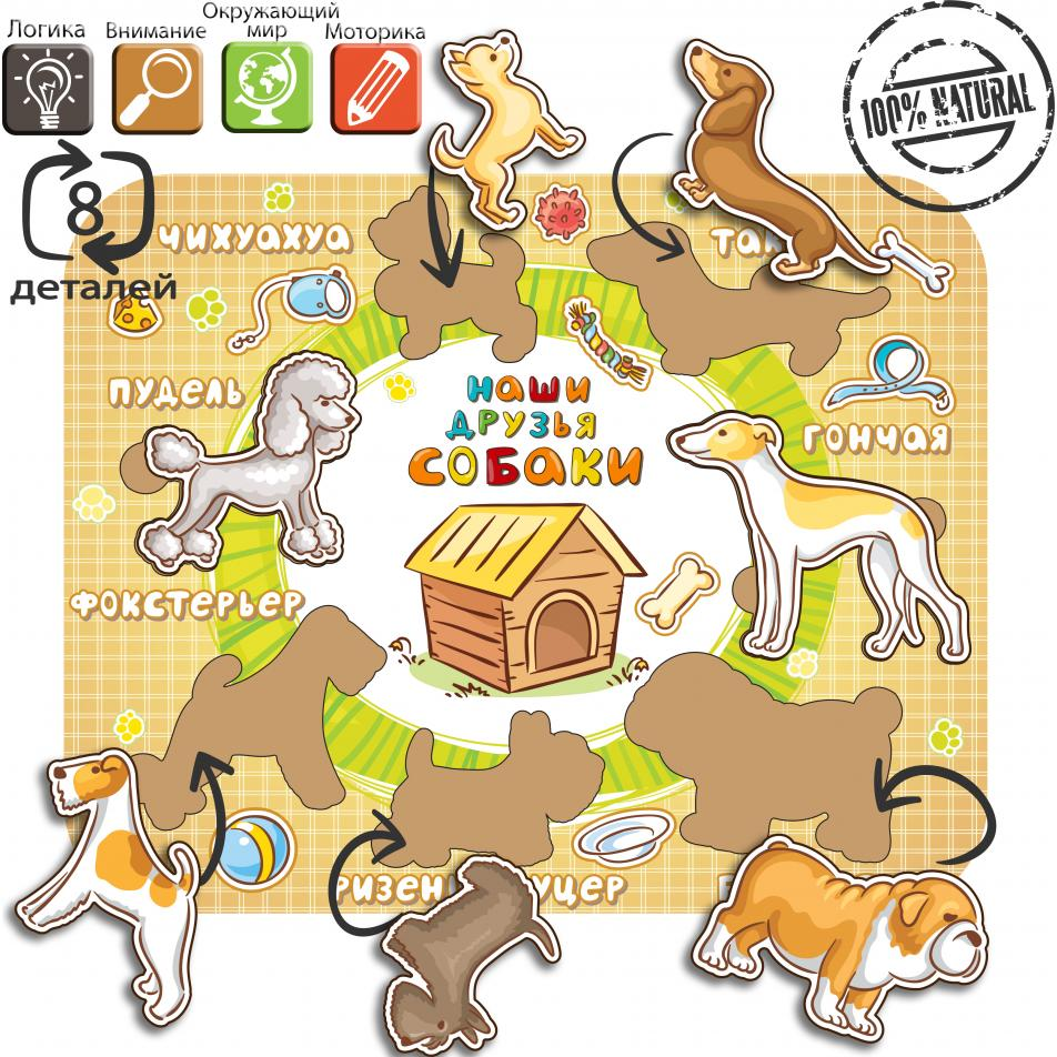 Рамка-вкладыш «Породы собак»