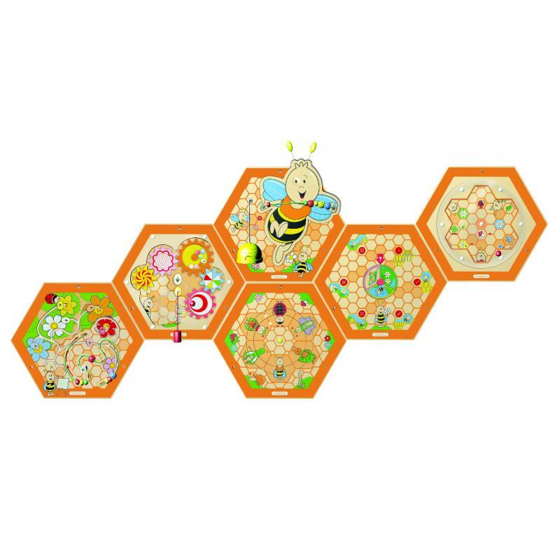 """Настенный игровой элемент """"Пчелы. Соты"""" фото"""