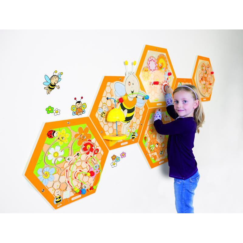 """Настенный игровой элемент """"Пчелы. Пыльца"""" фото"""