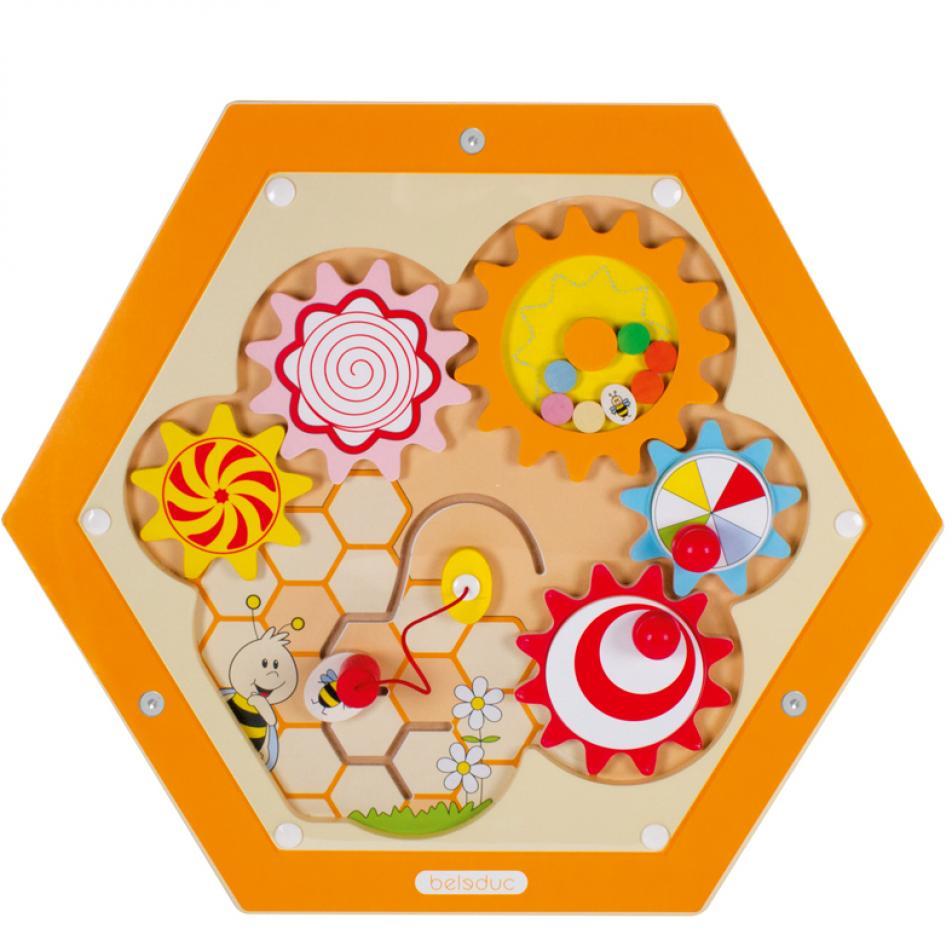 """Настенный игровой элемент """"Пчелы. Механизмы"""""""