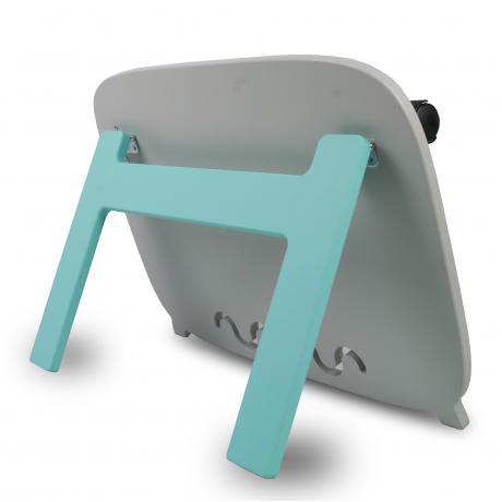 Бизиборд 48х34 односторонний с подставкой - серый