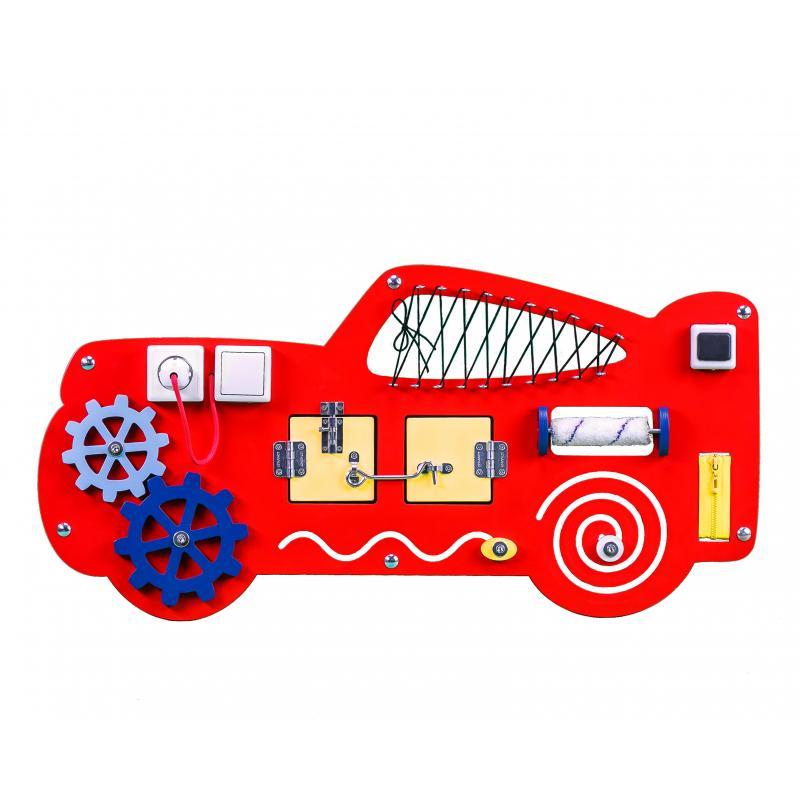 Развивающая доска Бизикидс Машина фото