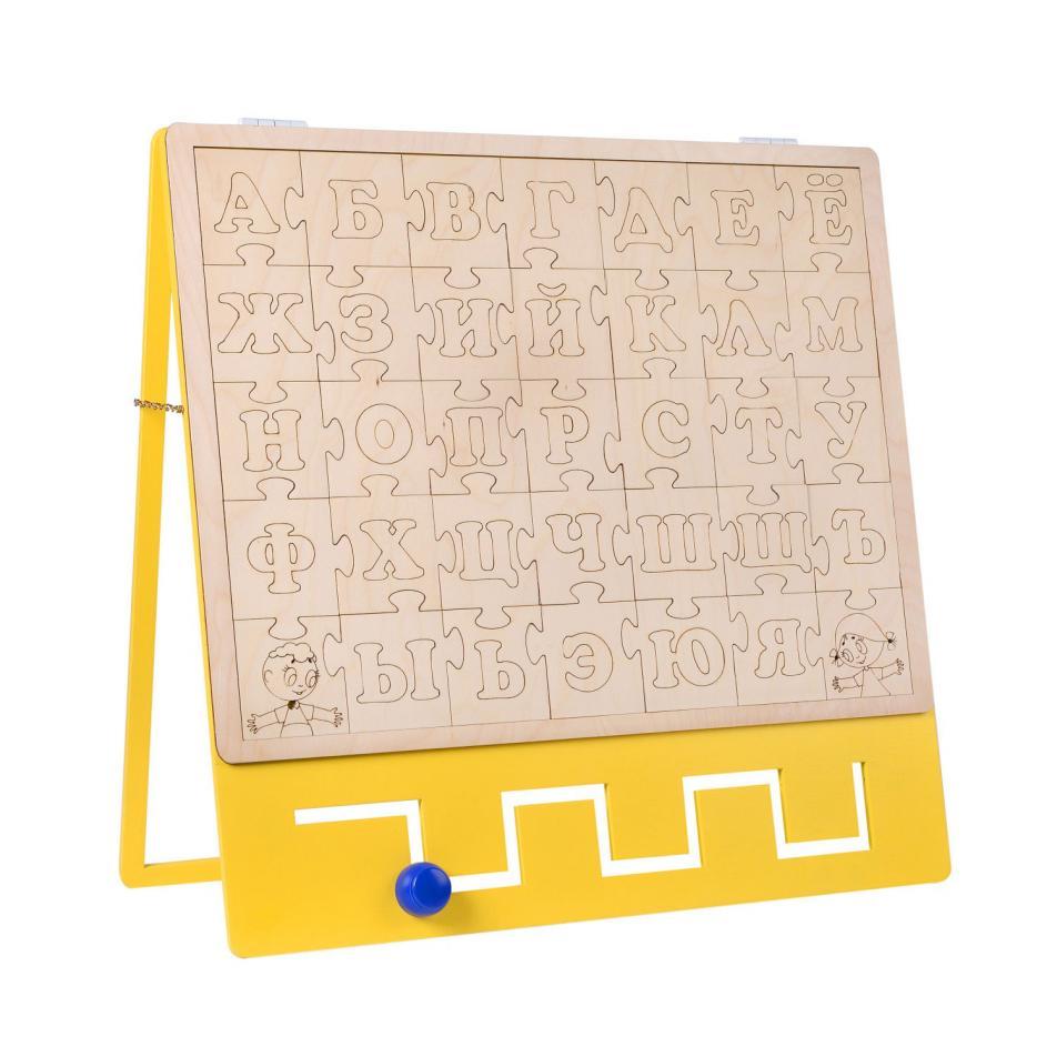 Бизиборд BZK - ЭКО азбука пазл