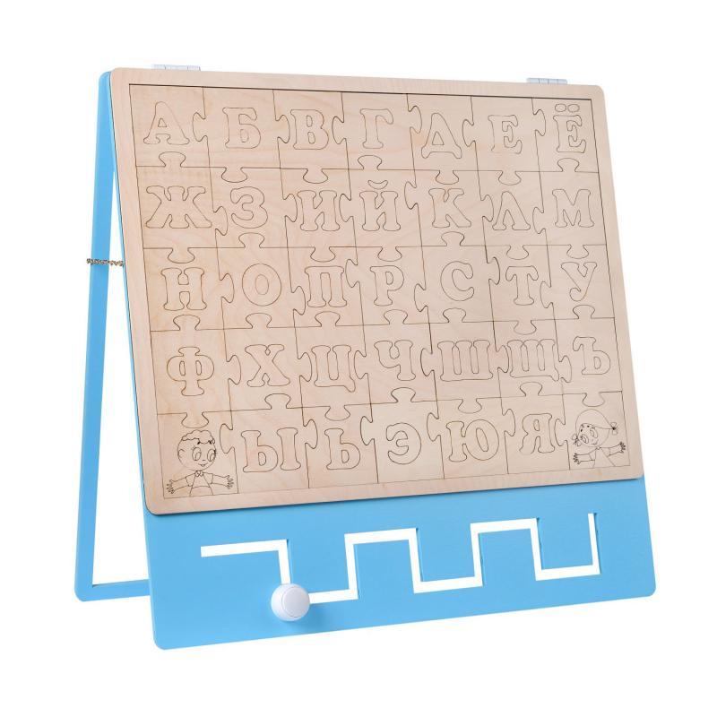 Бизиборд BZK - ЭКО азбука пазл фото