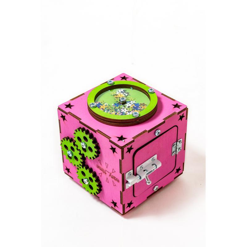 БизиКуб розовый 13х13 фото