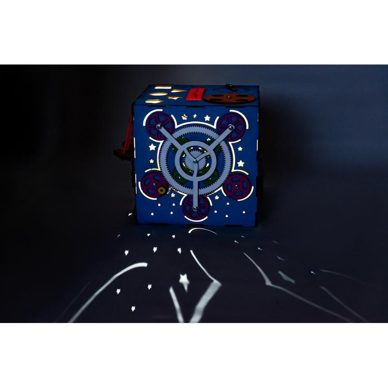 Бизикуб синий 30х30 фото