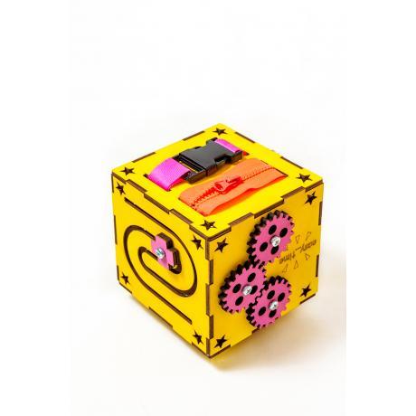 БизиКуб желтый 13х13