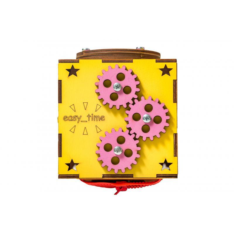 БизиКуб желтый 13х13 фото