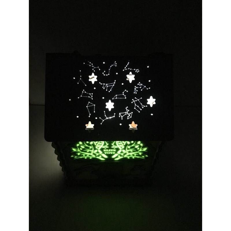 Бизидом со светом ElitToys 25х25х35 см фото