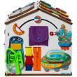 Бизиборд домик Знайка Косморобот со светом фотографии