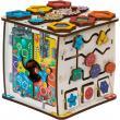 Бизиборд кубик Смайлики на дне рождения фотографии