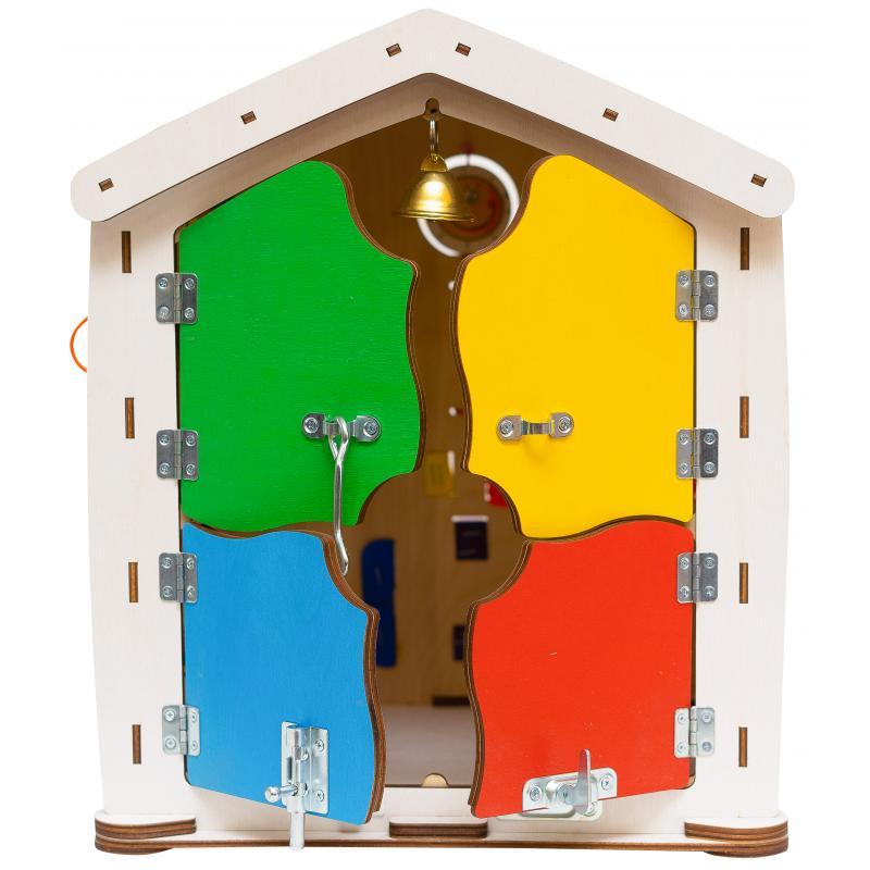 Бизиборд домик Знайка Семицвет Миди 35X40 со светом фото