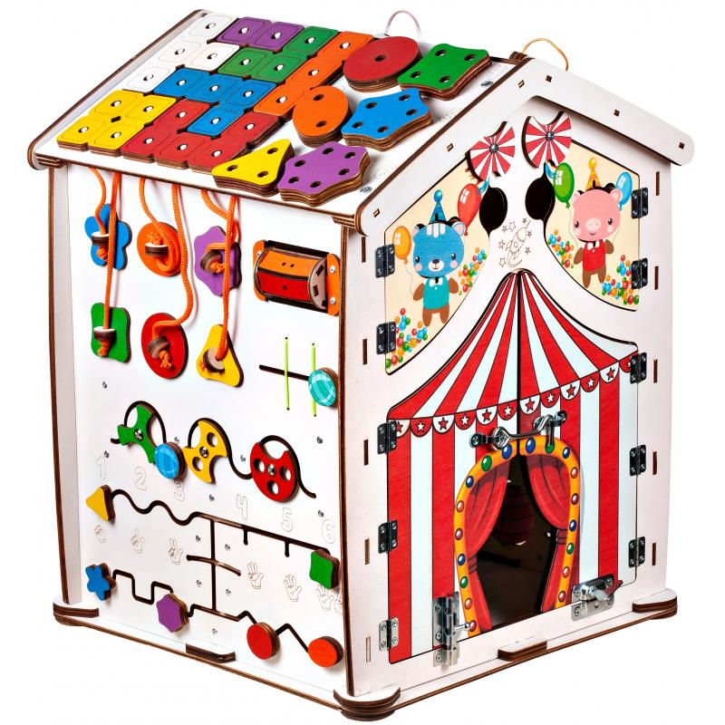 Большой бизидом Знайка цирк 40X50 со светом фото