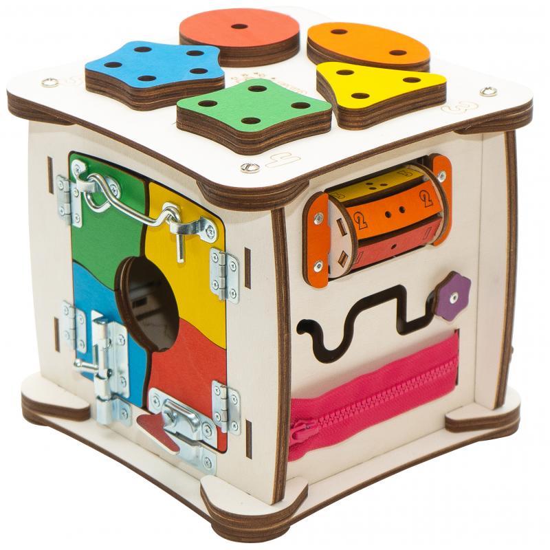 Кубик Знайка Семицвет Мини 20X20 см со светом фото