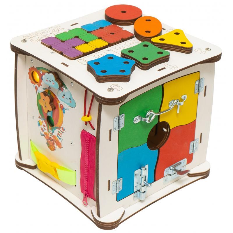 Кубик Знайка Семицвет Миди 25X25 см со светом фото