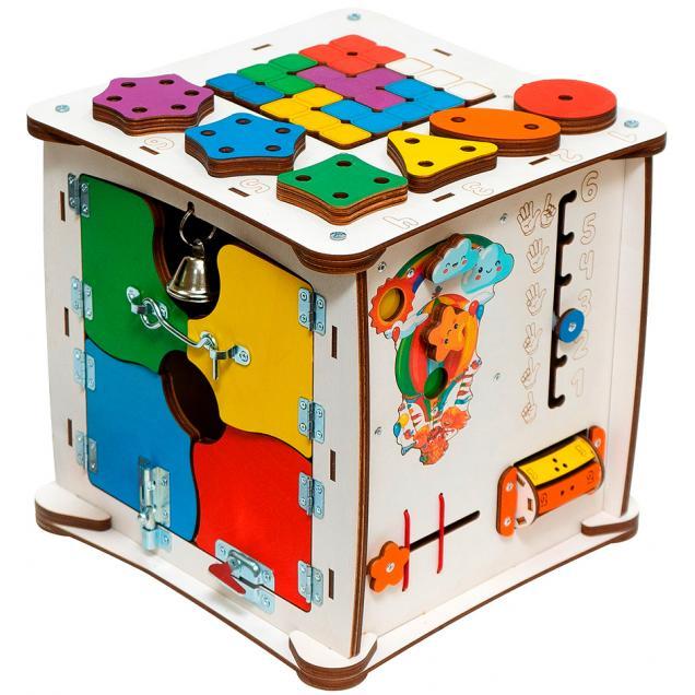 Кубик Знайка Семицвет Макси 30X30 см со светом