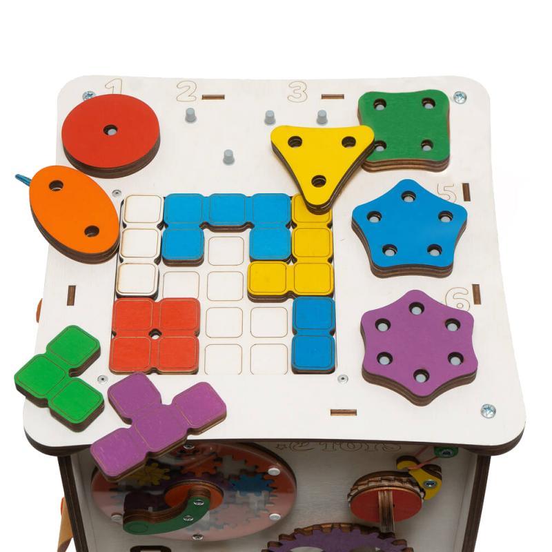 Кубик Знайка Семицвет Макси 30X30 см со светом фото