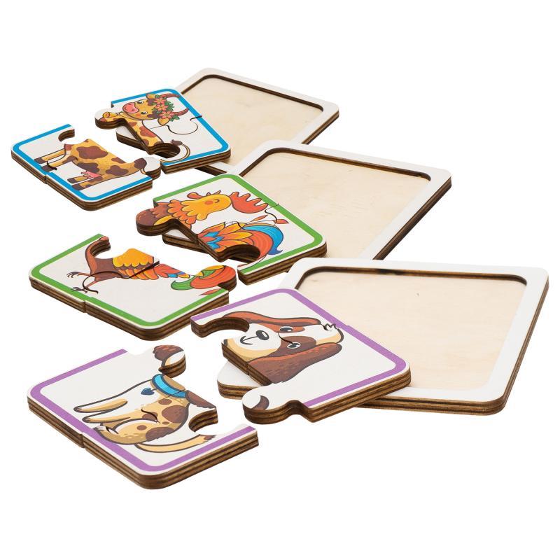 Набор пазлов для малышей - Домашние животные фото