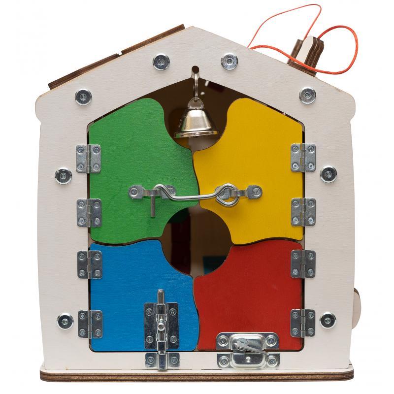 Бизидом Знайка Космос 30х30х25 см мини со светом фото