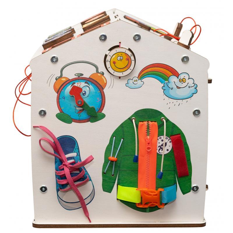 Бизидом Знайка радуга 40х40х30 см миди со светом фото