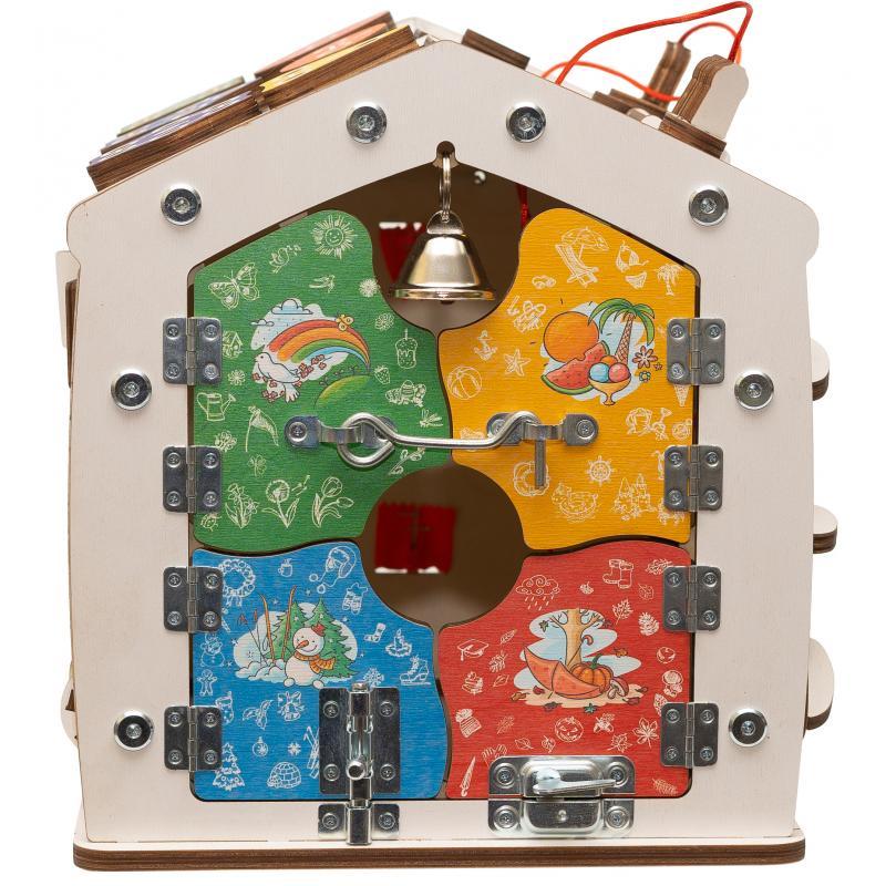 Бизидом Знайка радуга 33X30X27 см мини со светом фото