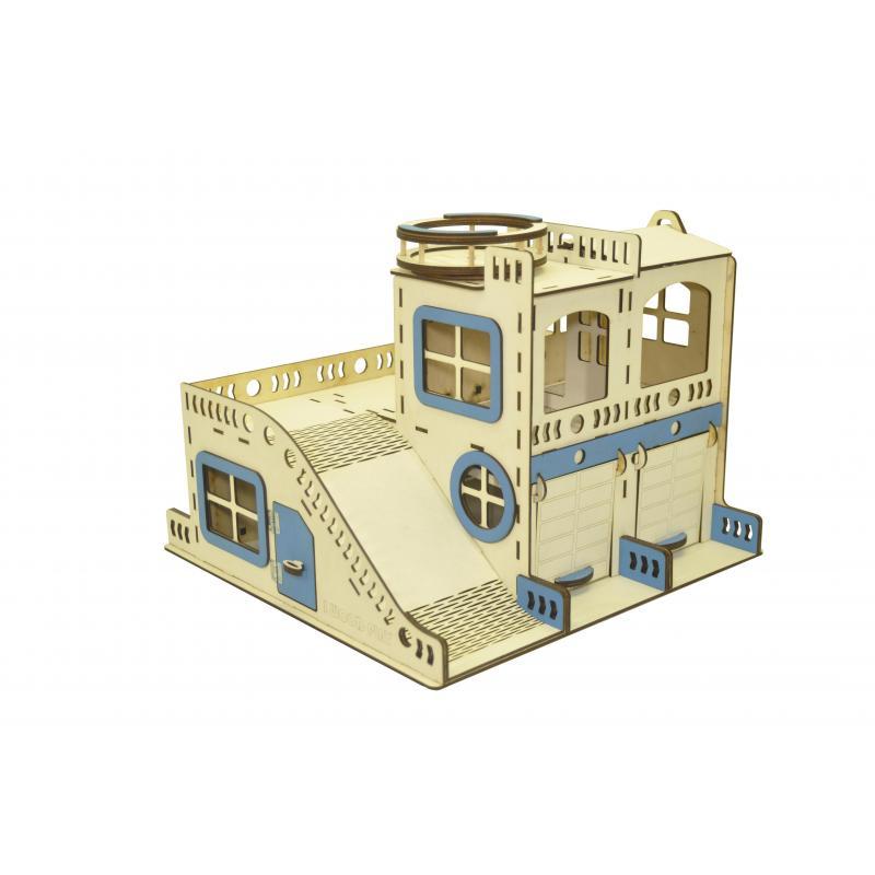 Гараж для машинок с Мега Треком 75 см фото