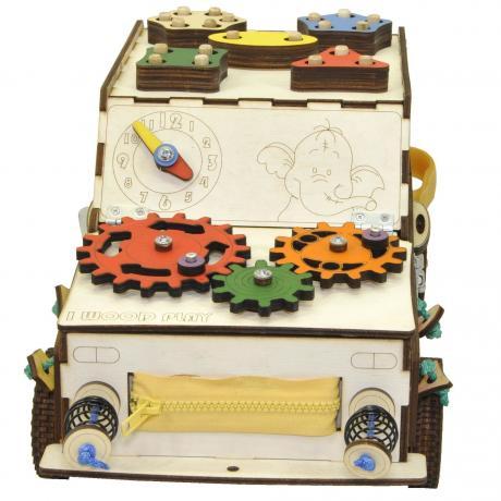 Бизи машинка Развивающая машинка с электрикой