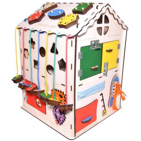 Развивающий домик 35х35х50 с электрикой