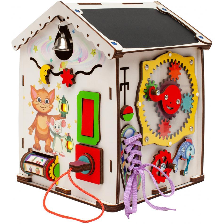 Бизидом  мультик «Добрые зверята» 28х28х35 см с электрикой