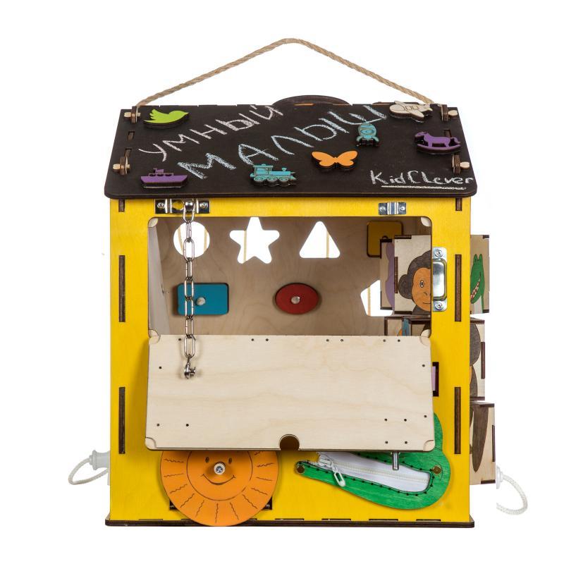 Бизиборд домик Африка с музыкой и светом фото