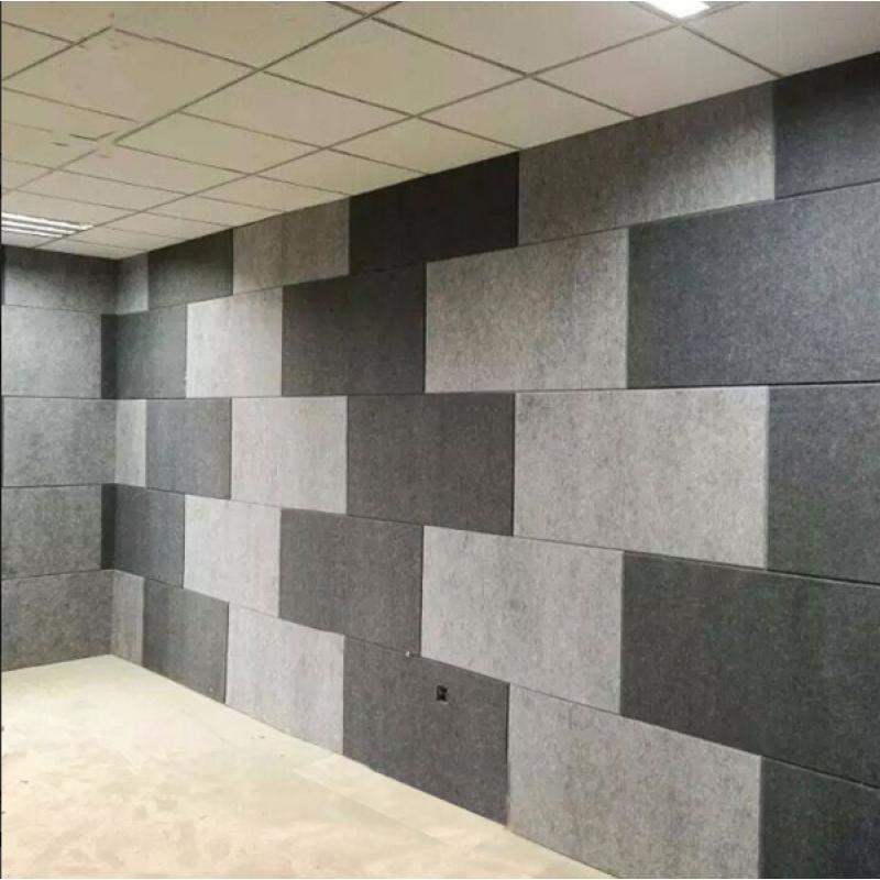Мягкие Шумопоглащающие панели для стен MyMatto - Квадрат серый фото
