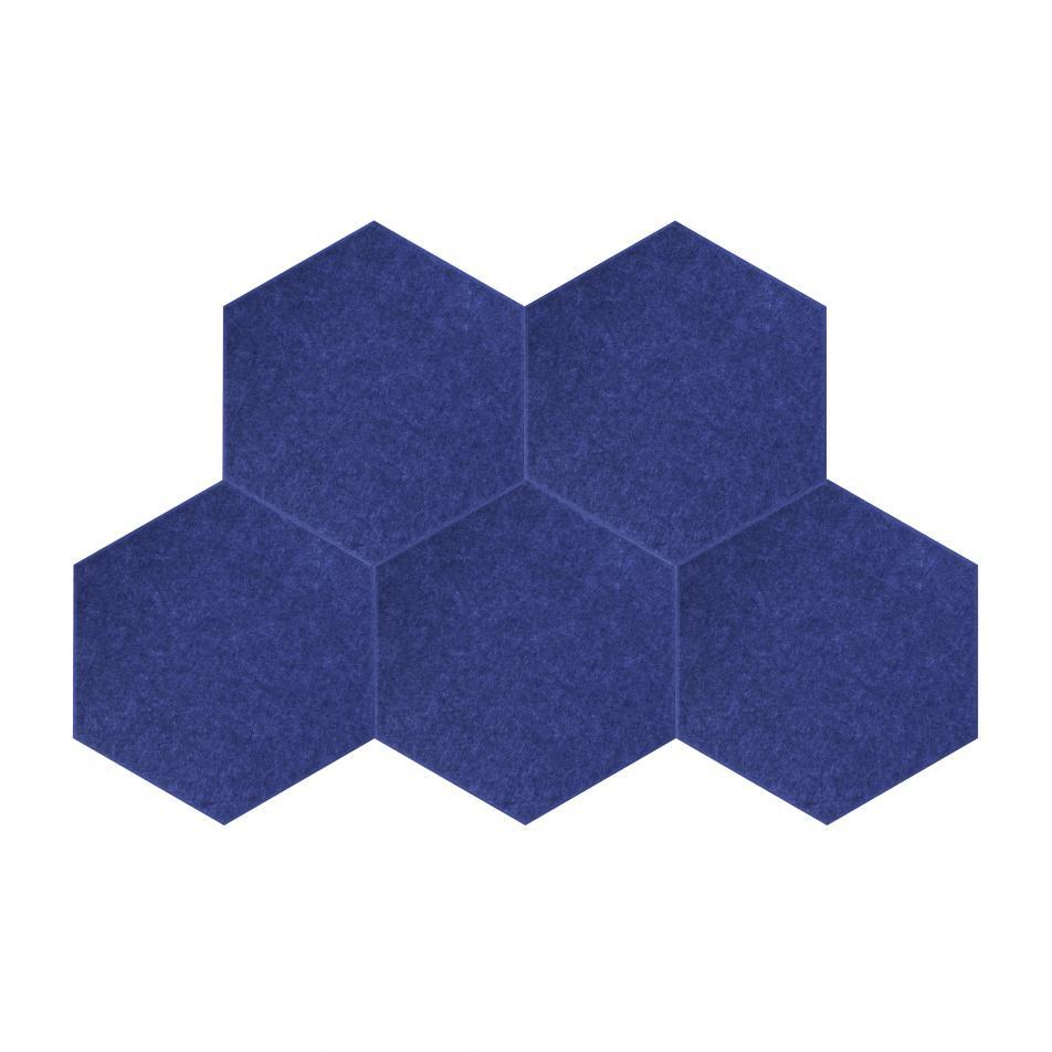 Шумопоглащающие панели для детской комнаты MyMatto - Сота синий