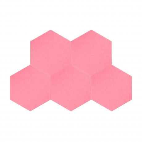 Утепляющие мягкие панели для детской комнаты MyMatto  - Сота розовый