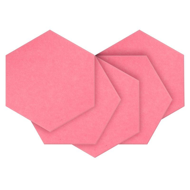 Утепляющие мягкие панели для детской комнаты MyMatto  - Сота розовый фото