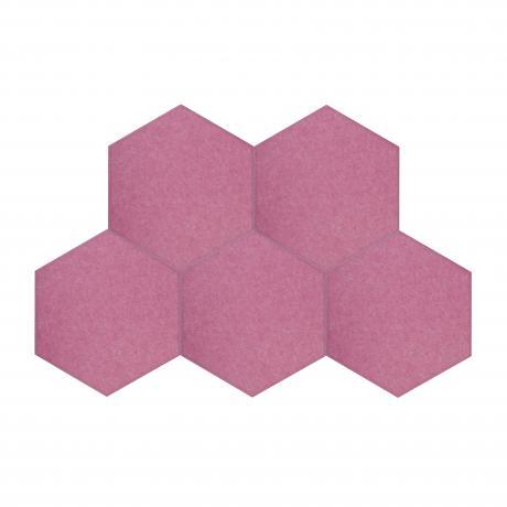 Утепляющие мягкие панели для детской комнаты MyMatto  - Сота сиреневый