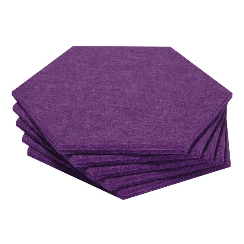 Мягкие панели для стен MyMatto - Сота фиолетовый фото