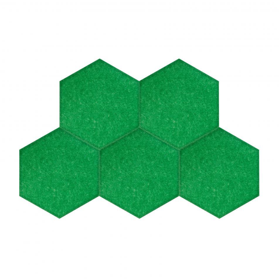 Мягкие, Гипоаллергенные панели на стену MyMatto - Сота лесной зеленый