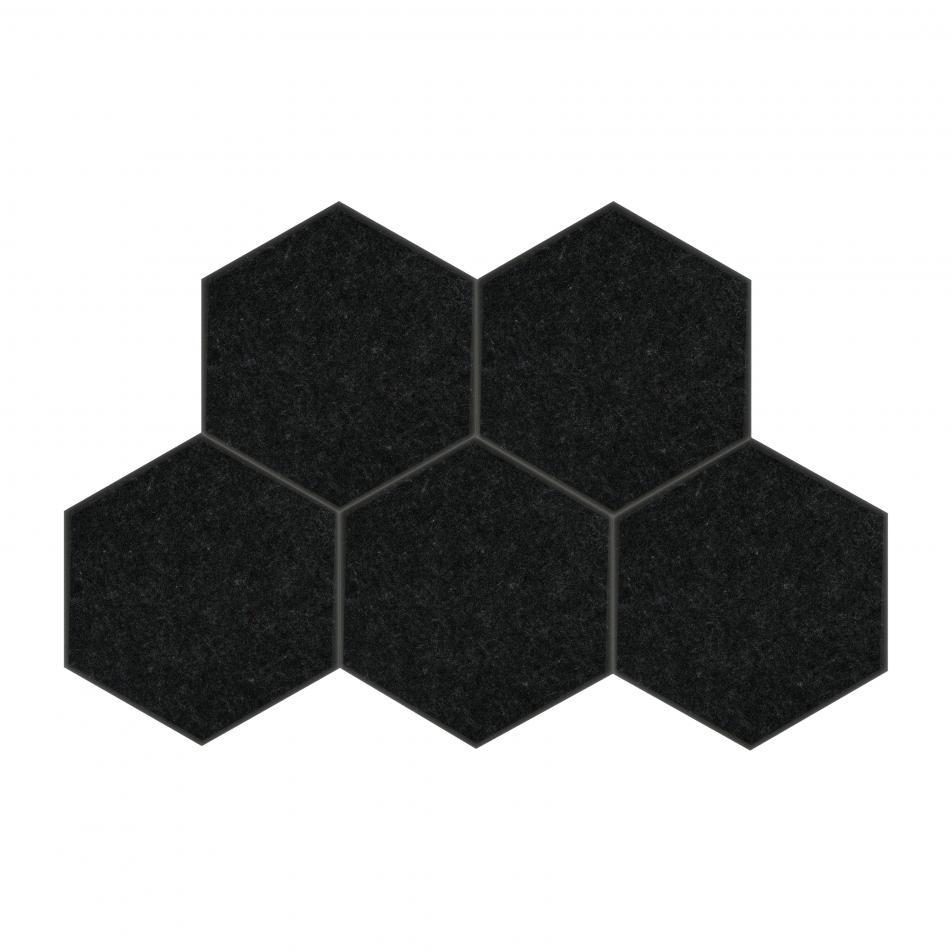 Мягкие, Гипоаллергенные панели на стену MyMatto - Сота черный