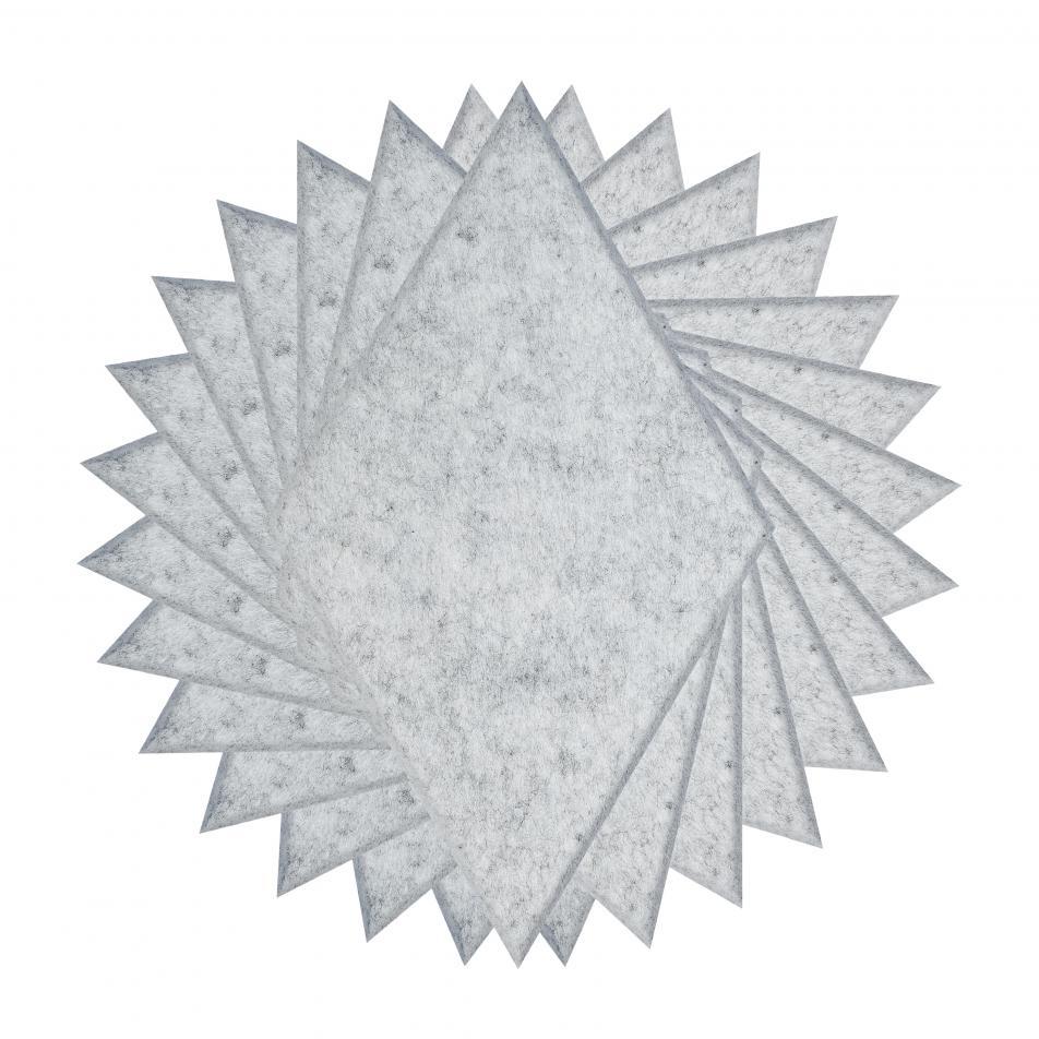 Шумопоглащающие панели для стен MyMatto - Ромб серый мраморный