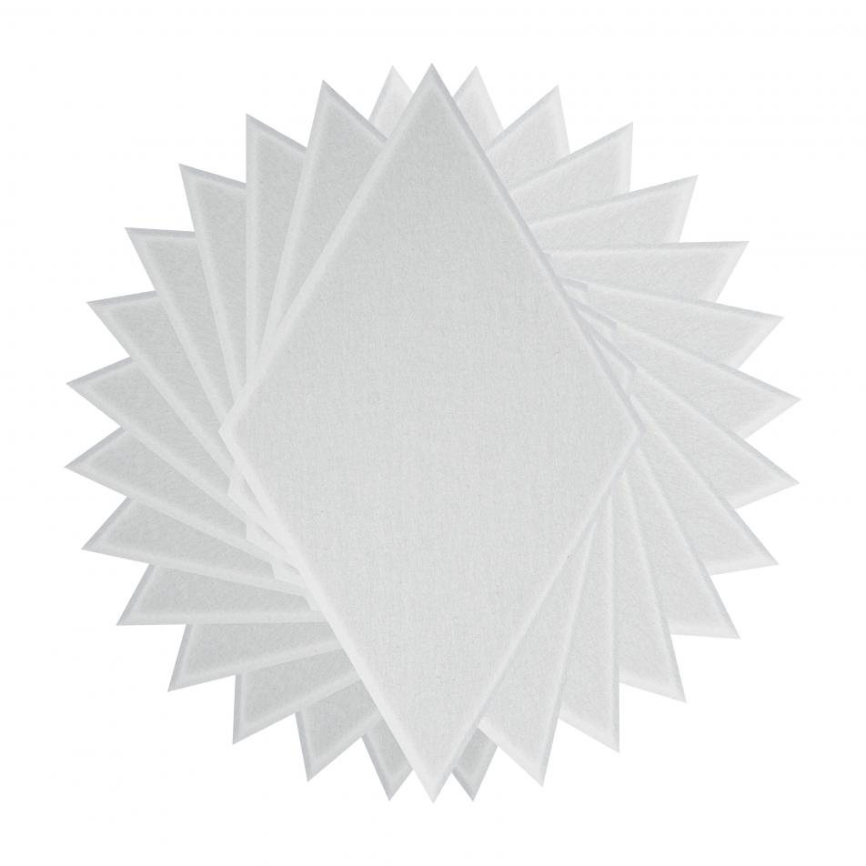 Шумопоглащающие панели для стен MyMatto - Ромб белый