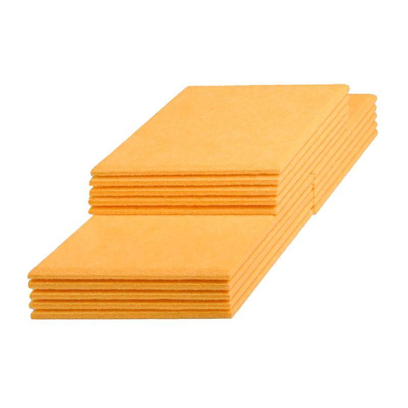 Декоративные настенные панели из ЭКО-войлока MyMatto - Ромб желтый фото