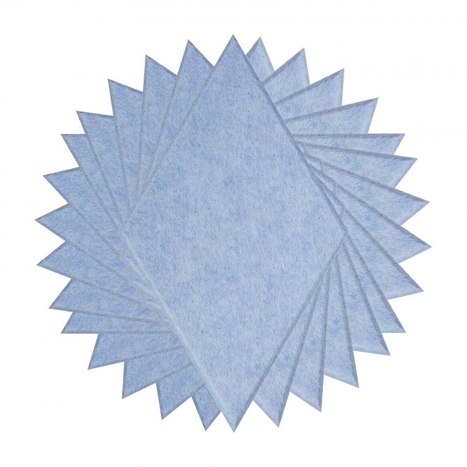 Шумопоглащающие панели для детской комнаты MyMatto - Ромб голубой