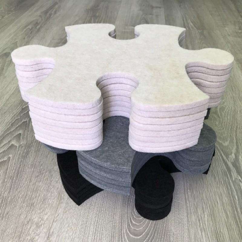Смарт-коврик Mymatto Classic Черно-белый фото