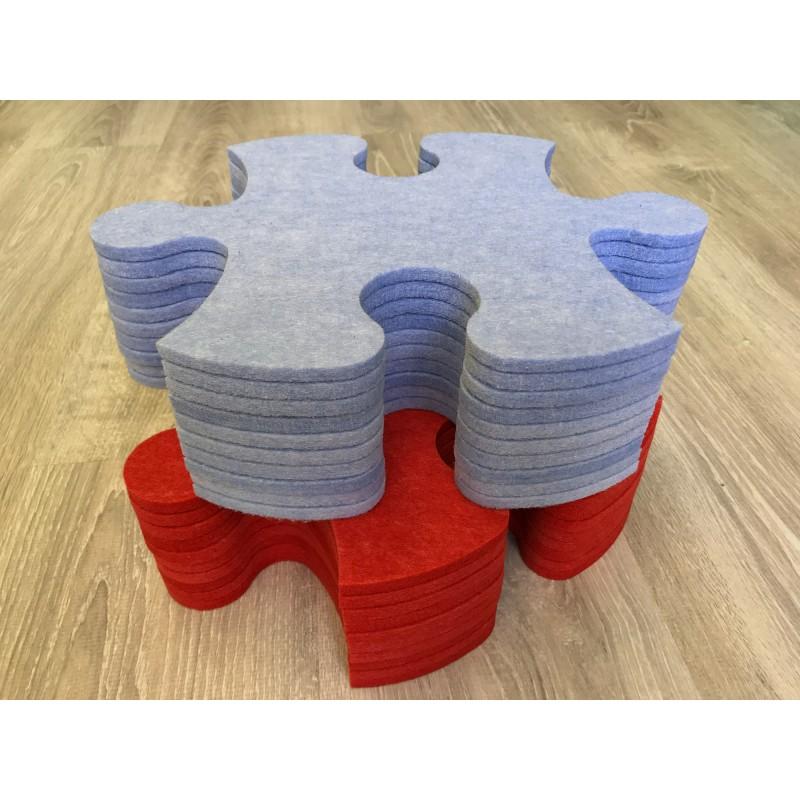 Смарт-коврик Mymatto Classic Красно-голубой фото