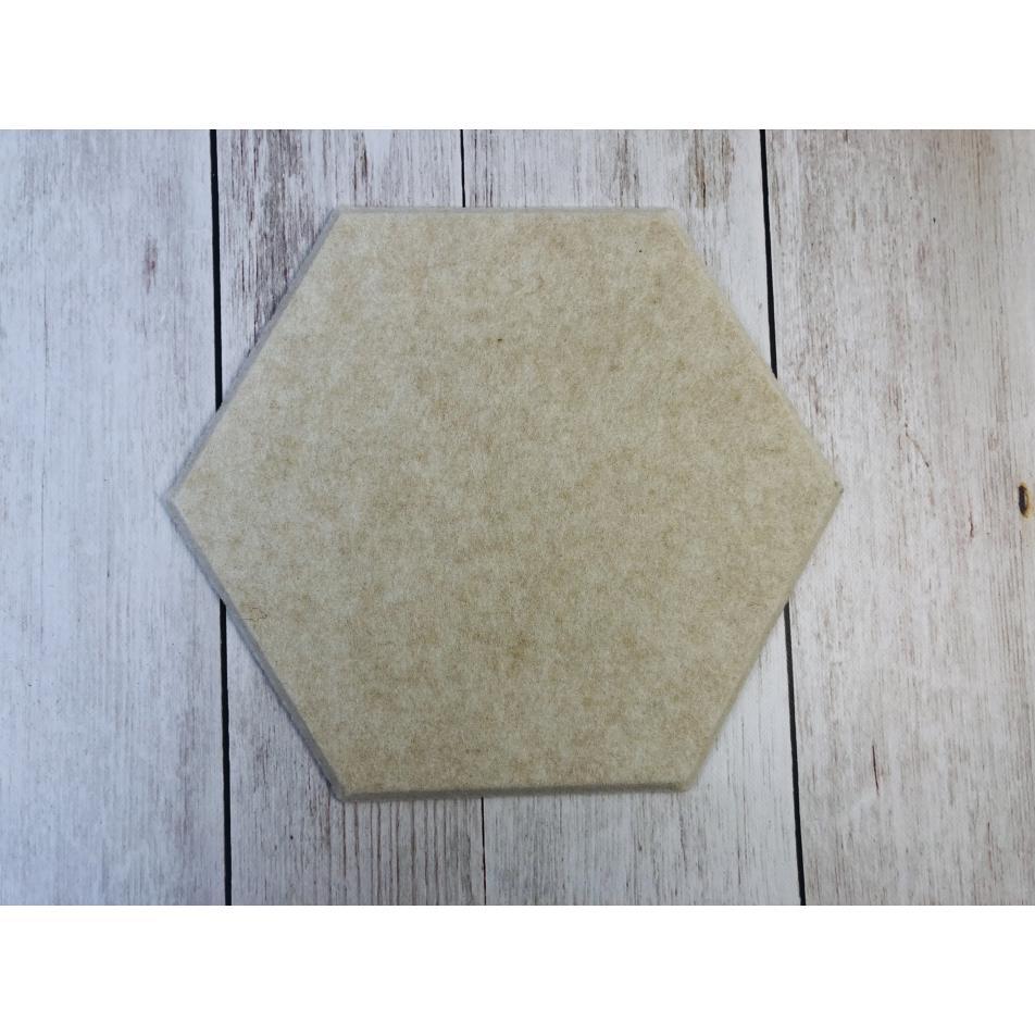 Настенные панели из ЭКО-войлока MyMatto - Сота кремовый